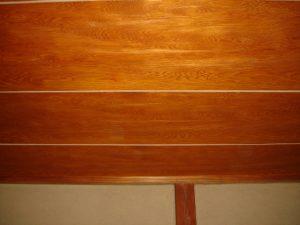 和紙天井塗装