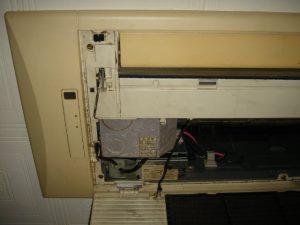 エアコン内部の汚れ