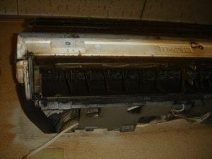 エアコン内部のカビ