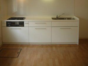 キッチン床ワックス