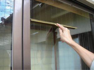 窓掃除,サッシクリーニング