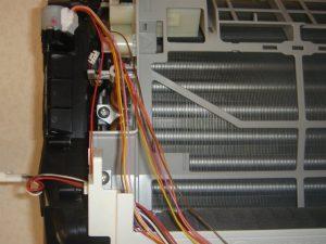 エアコン内部配線処理
