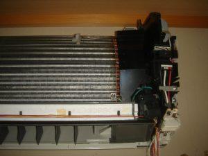 エアコン熱交換器