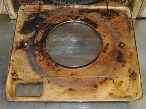 換気扇カバーの汚れ