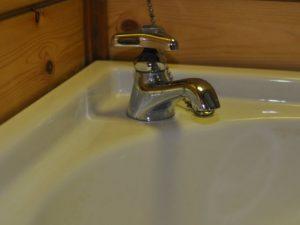 水栓クリーニング