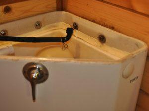 トイレタンクのカビ