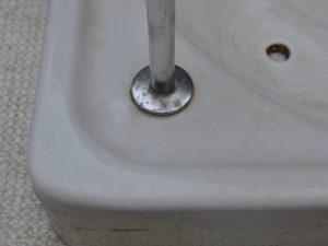 トイレタンク水垢