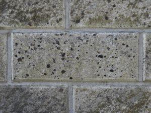 高圧洗浄,ブロック塀