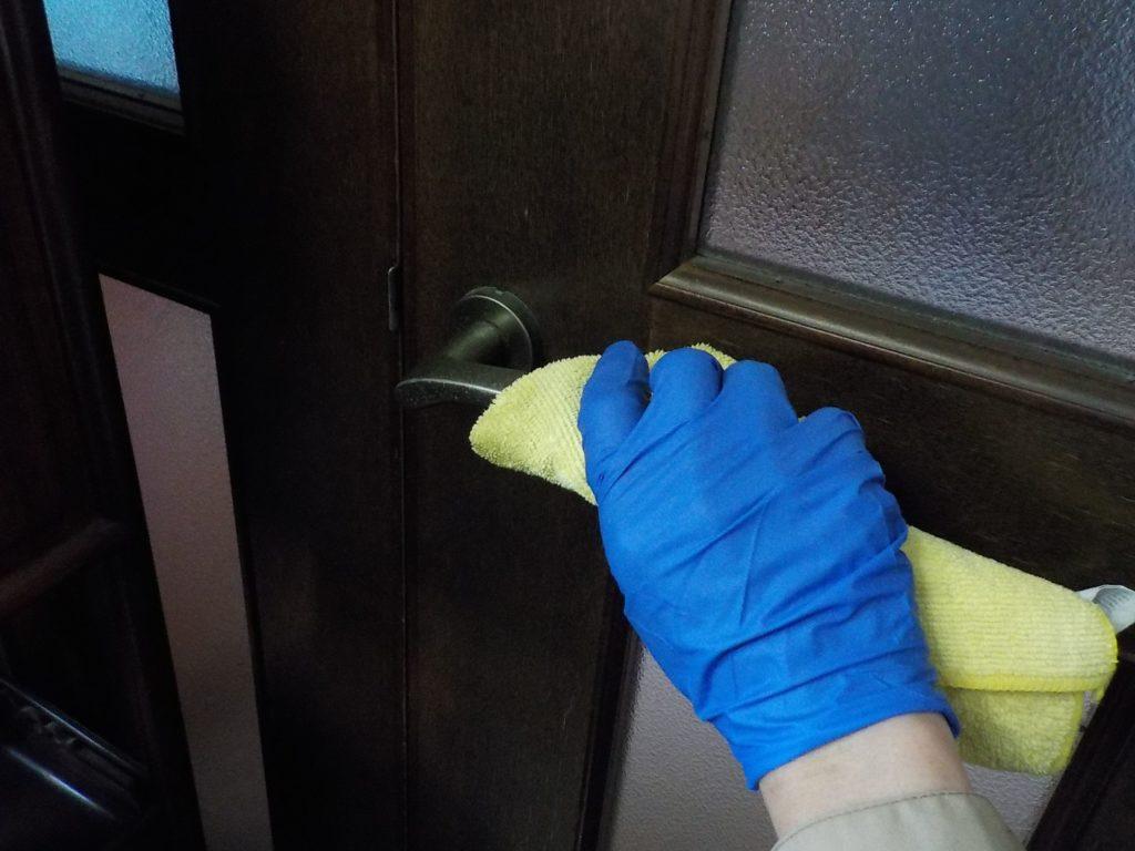 除菌クリーニング